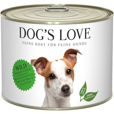 DOG'S LOVE PATEE POUR CHIEN | ADULTE GIBIER 200g