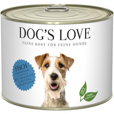 DOG'S LOVE PATEE POUR CHIEN | ADULTE POISSON 200g