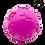 Thumbnail: BALLE EN PLASTIQUE ROSE OU VERTE