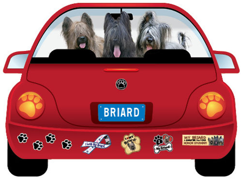 Briard-MobileMagnet (free shipping)