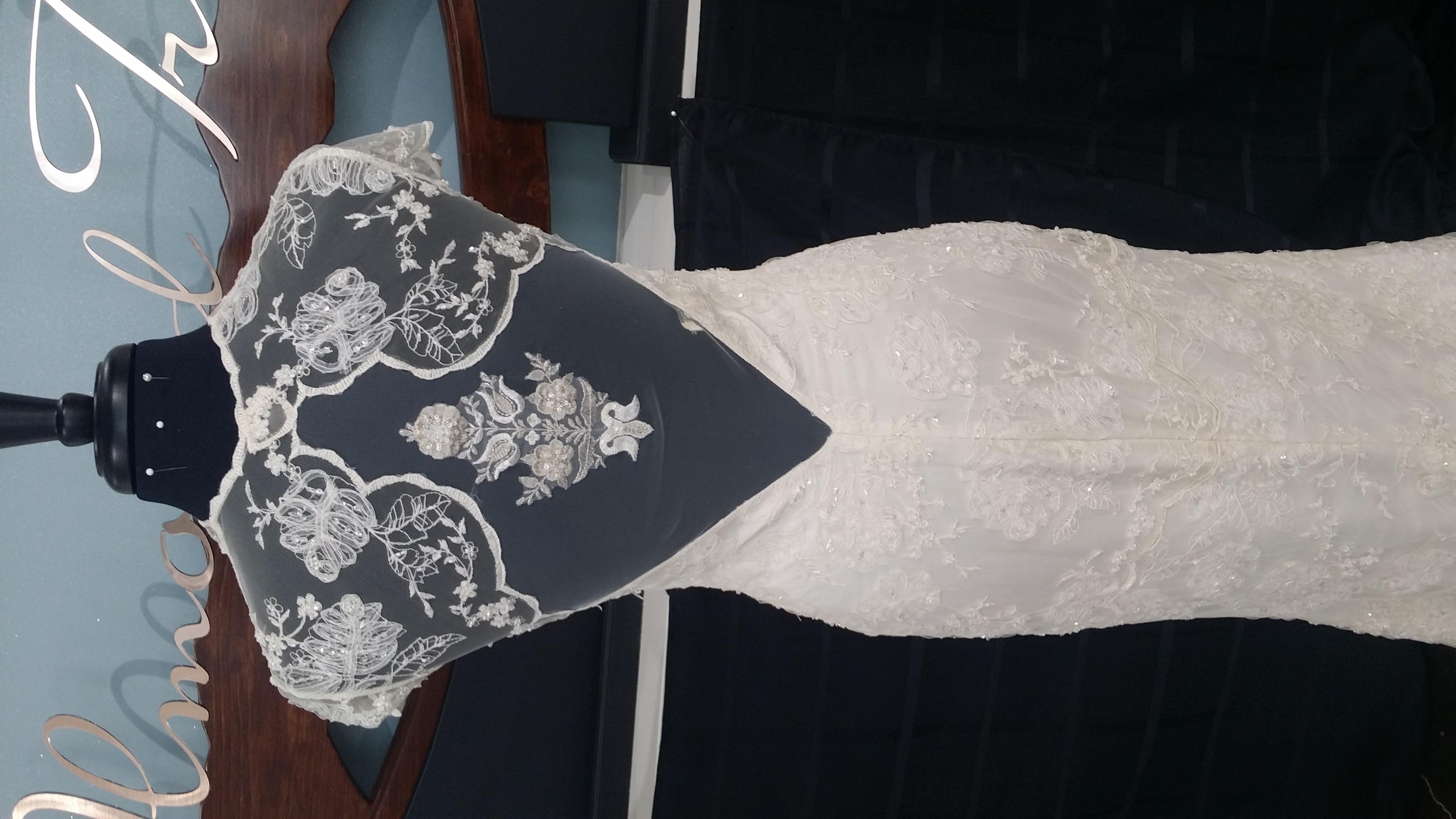 Mystere Sexy Wedding Bridal Dress