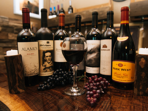 Some of our featured wines