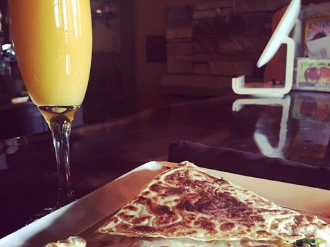 Crepe and Mimosa