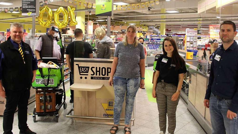 Schutzmaßnahmen im Einzelhandel wegen Corona