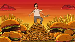 Bob's Burgers S9 E16 Roamin' Bob-iday (1