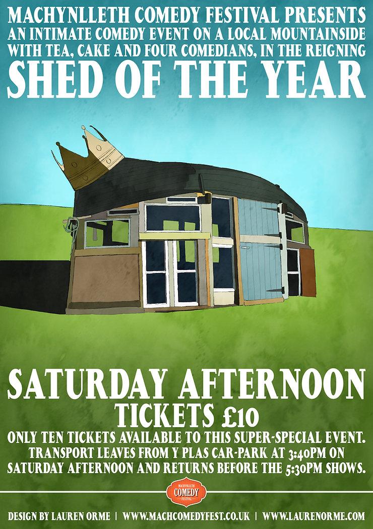Vagabond Comedy Night Poster 5 - April - Birthdays - Gwdihw - Cardiff - Jordan Brookes - Clint Edwards - Ted Shiress - Sarah Bridgeman