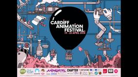 Cardiff Animation Festival yn cyhoeddi rhaglen lawn