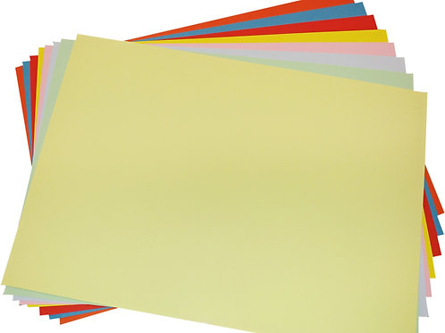 Coloured Card 160gsm Pale(50 sheets)