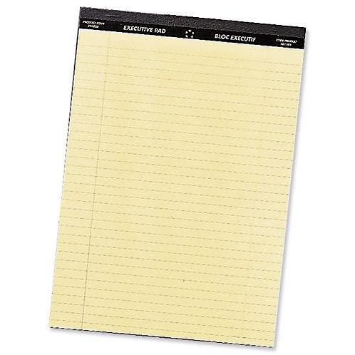 Value Executive Pad A4 Yellow   KF01387