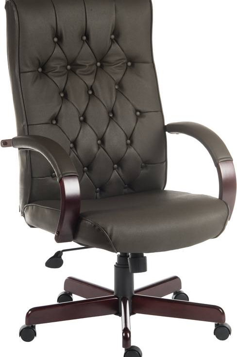 Warwick Executive with wooden base in Brown