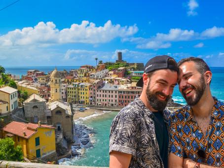 Map'Guide  •  CINQUE TERRE  |  Consigli, Itinerari e Cosa Vedere? Guida Pratica LGBT Friendly
