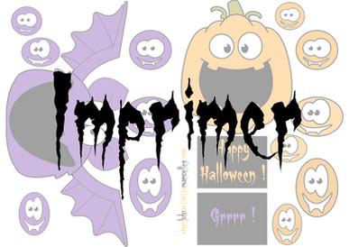 Sacs à bonbons pour Halloween