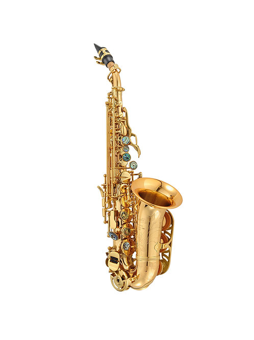 P Mauriat PMSS-2400GL Curved Soprano Saxophone