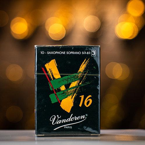 Vandoren Java V16 SopranoSaxophone Size 3 Reeds