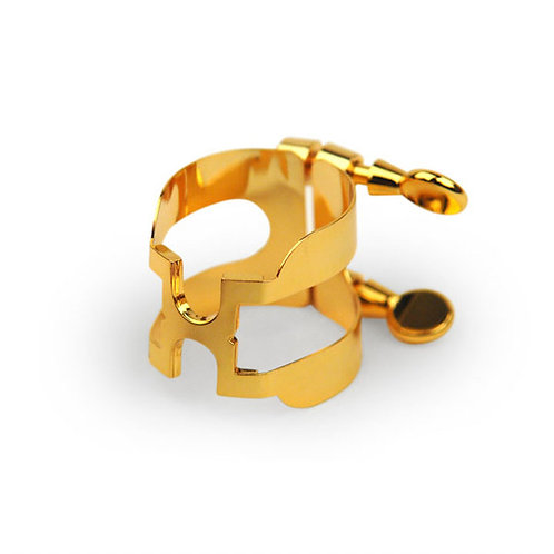 Rico Gold Plated H-Ligature and Cap