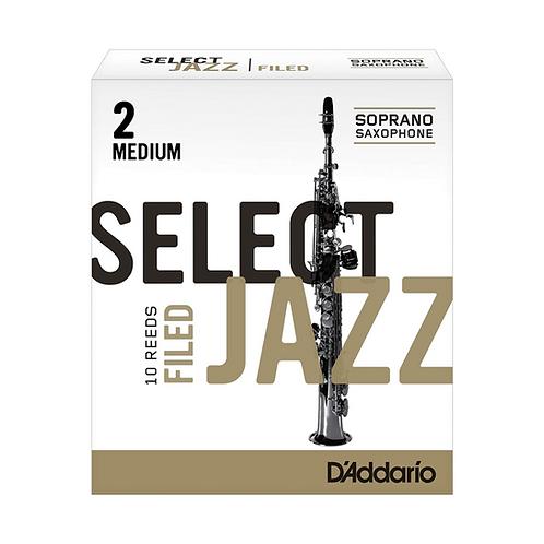 D'Addario Select Jazz Filed Soprano Saxophone Reeds