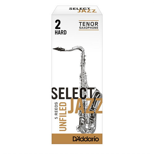 D'Addario Select Jazz Unfiled Tenor Saxophone Reeds