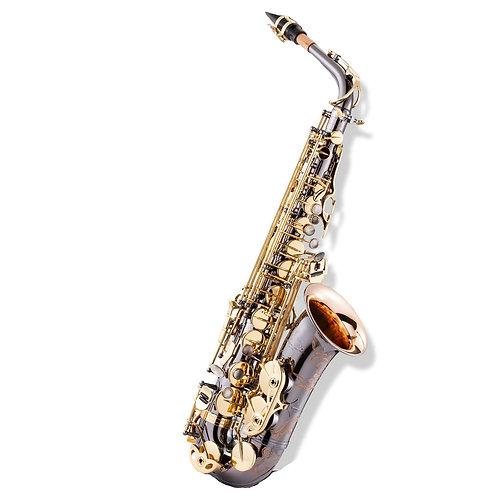 LC A-703BD Alto Saxophone (Black Plated)