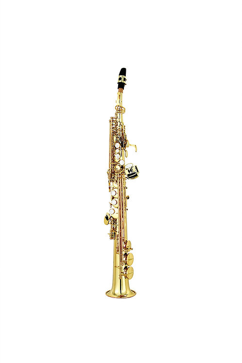 LC S-601CL Soprano Saxophone (Clear Lacquer)