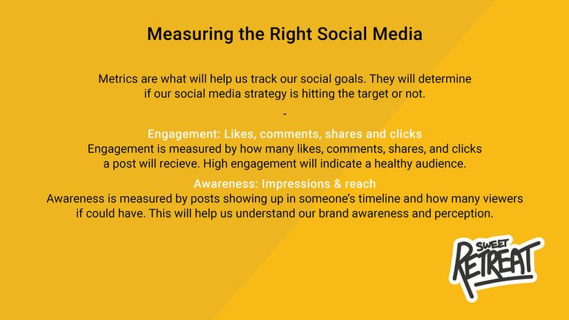 Measuring the Right Social Media