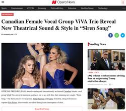 Opera News - ViVA Trio