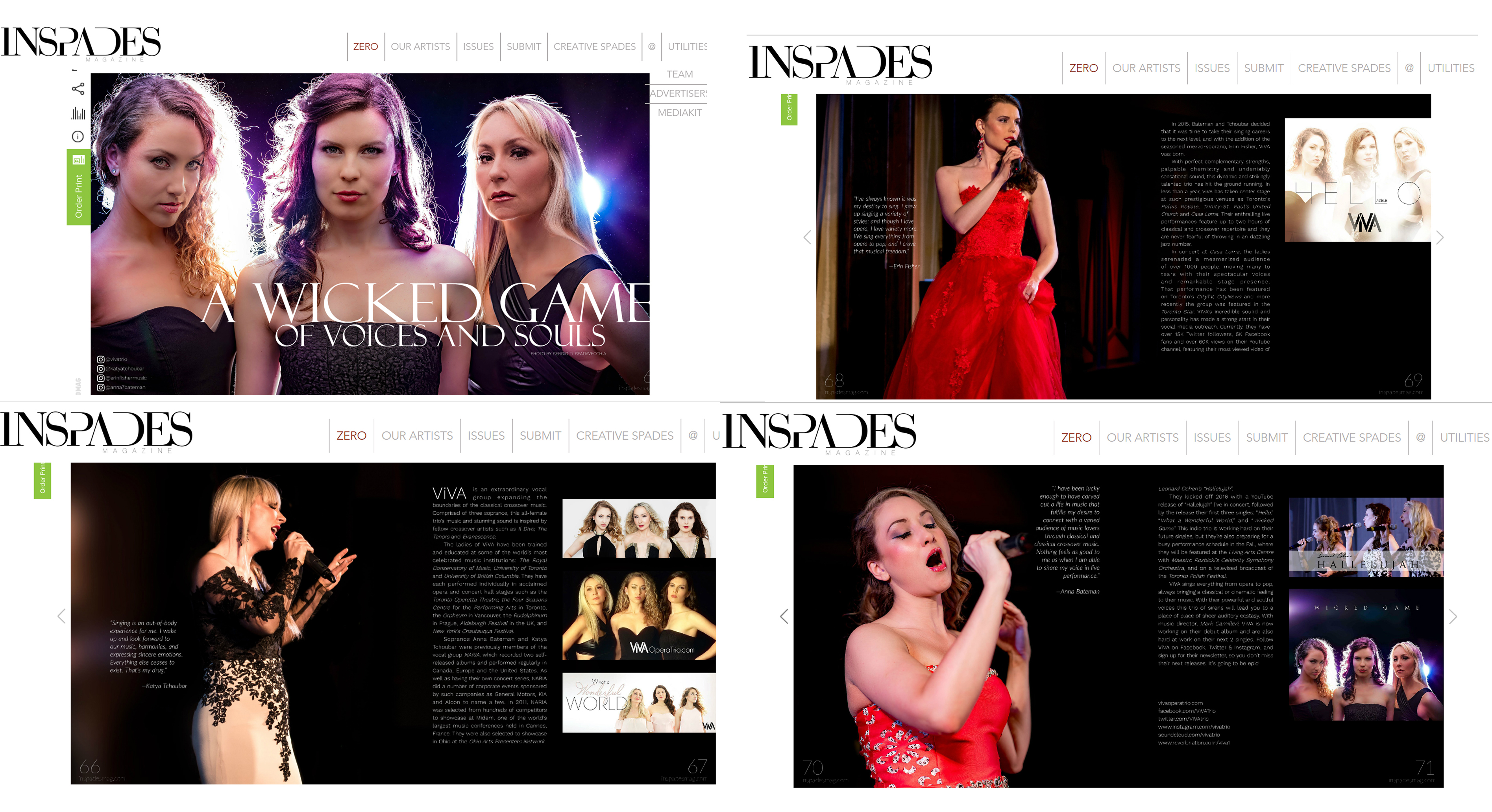 Featured in INSPADES Magazine