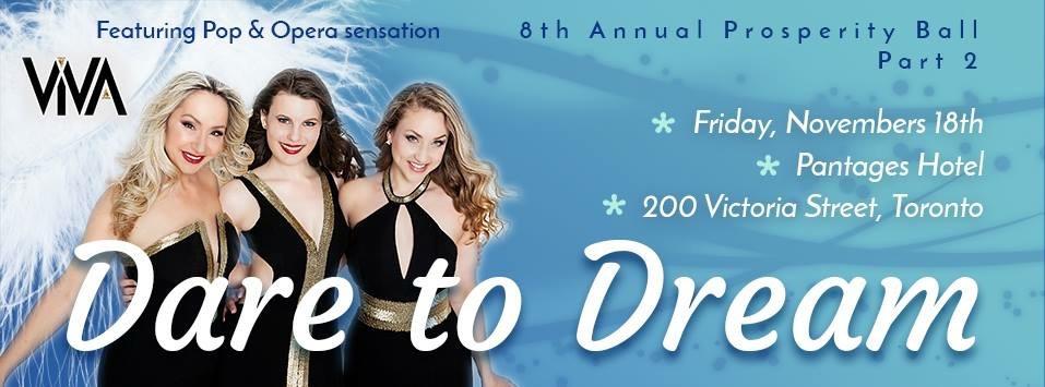 ViVA at Dare to Dream Fundraiser