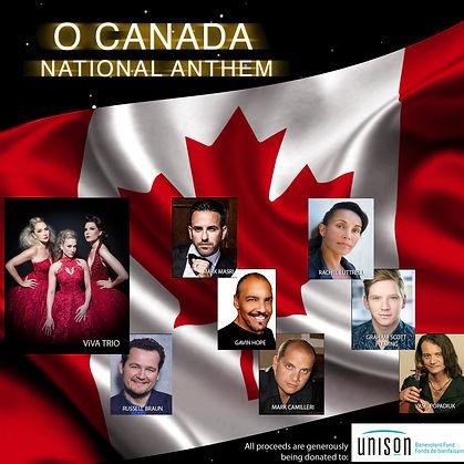 O Canada Anthem ViVA Trio Gavin Hope, Ma