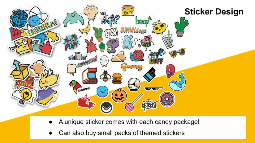 Collaborate Collection of Stickers