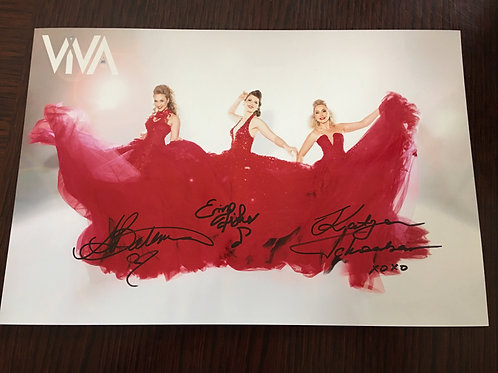 Stunning Photo Print - Signed by ViVA Trio