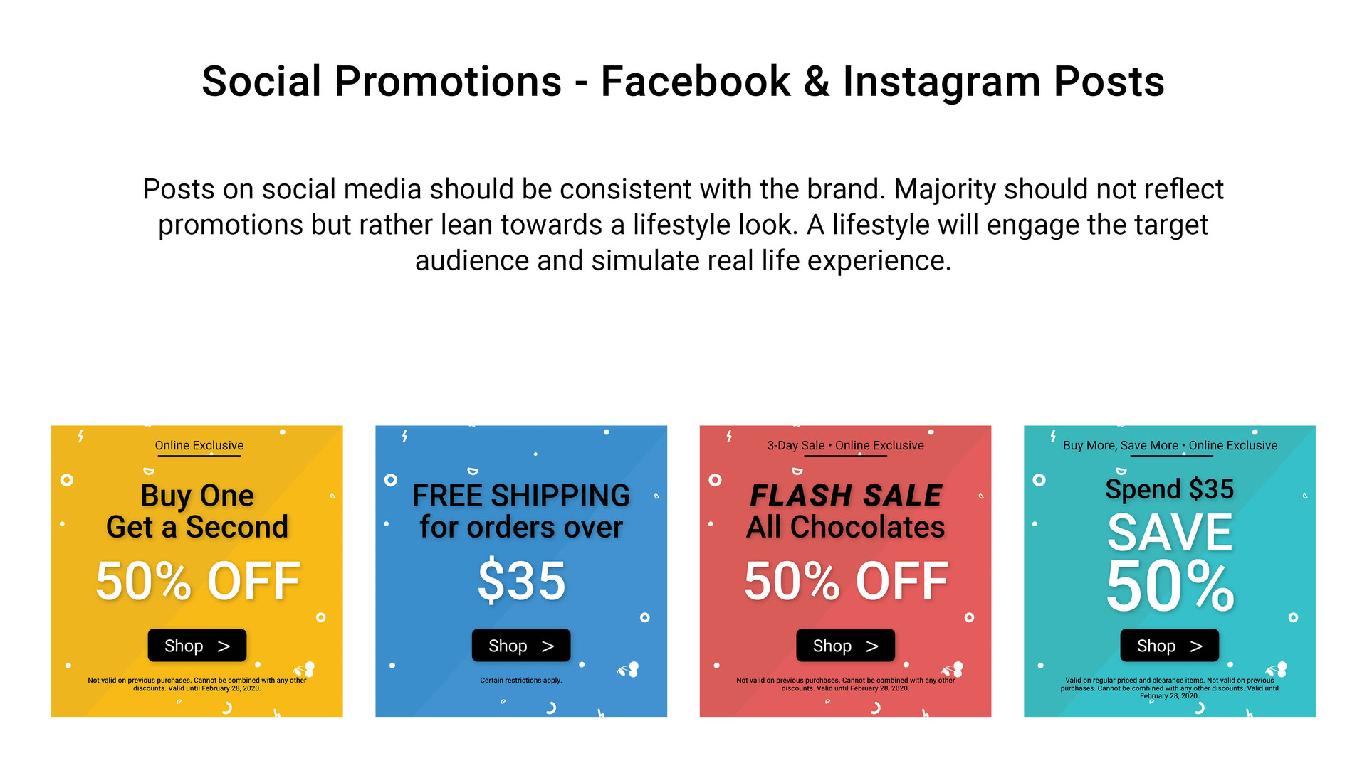 Social Promotions