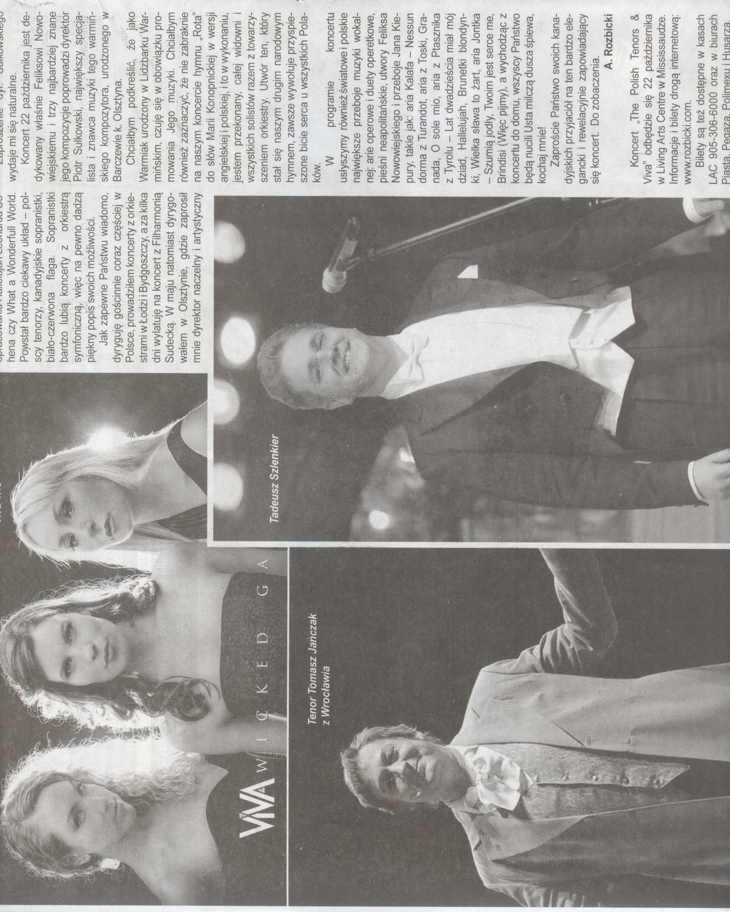 ViVA featured in Goniec Newspaper