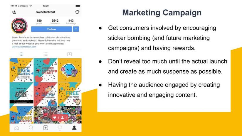 Marketing Campaign - Instagram