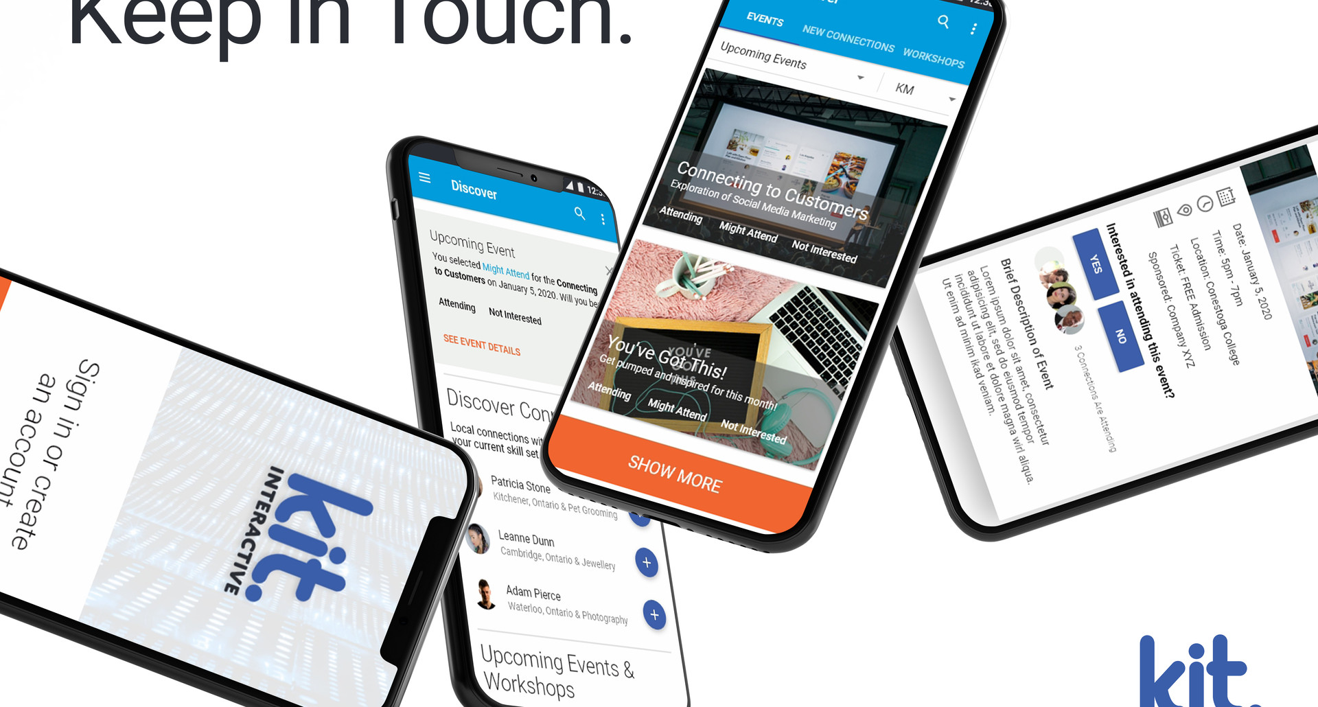 KIT Interactive App Advertisement