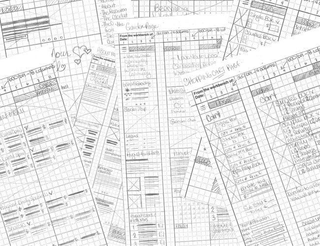 Rough Wireframes