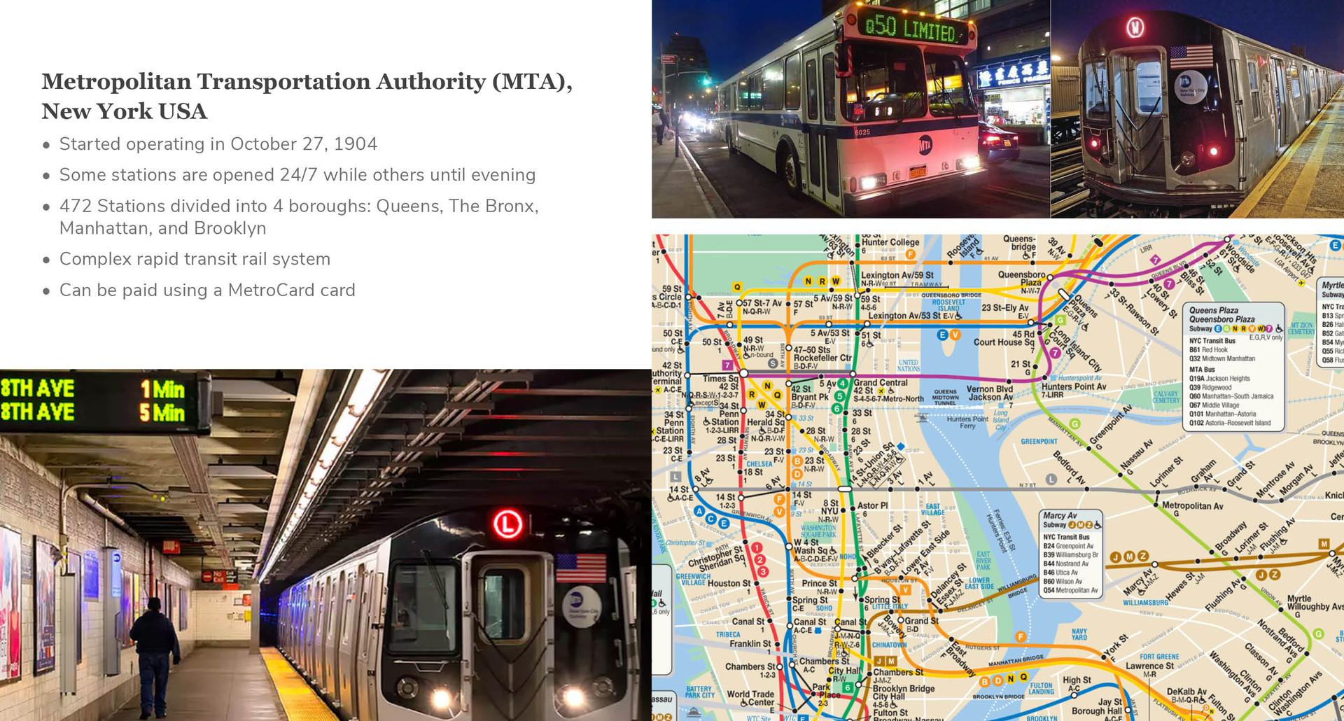 Metropolitan Transportation Authority (M