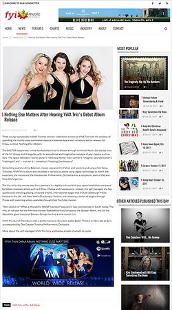 Featured in FYI Music News