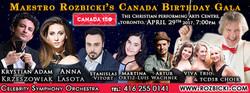 ViVA in Canada's 150th Birthday Gala