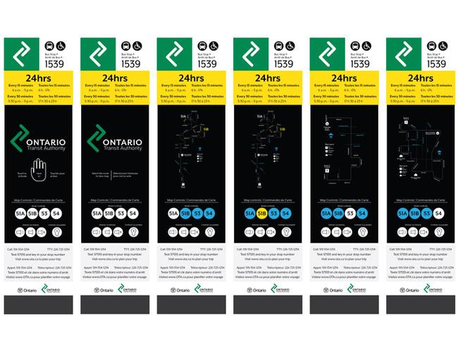 Ontario Transit Authority - Design Eleme