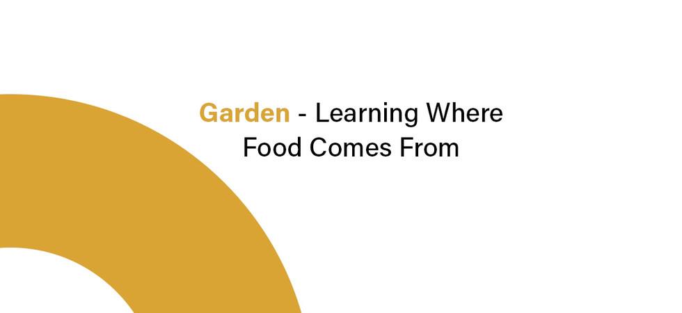 Community Restaurant & Garden Infographic