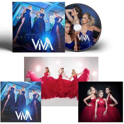 Album + 3 Photo Series - Signed by ViVA Trio