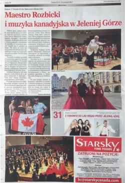 Featured in Gazeta Newspaper