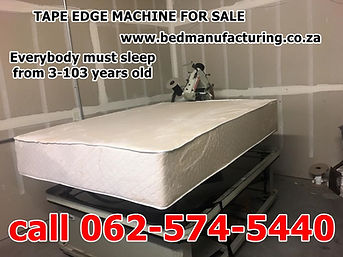 Tape Edge Machine South Africa new for s