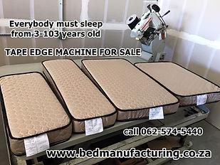 www.bedmanufacturing.com tape edge machi