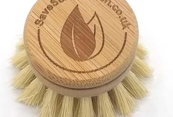 Bamboo washing up brush refill