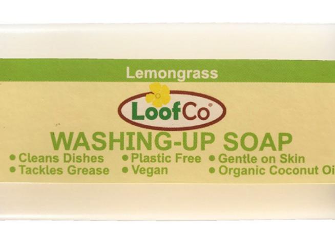 Washing up soap bar (lemongrass)