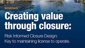 Swedish Seminar on Mine Closure Design