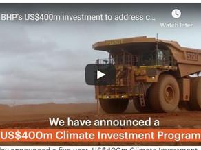 BHP announce $400m investment