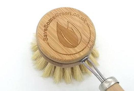 Bamboo washing up brush