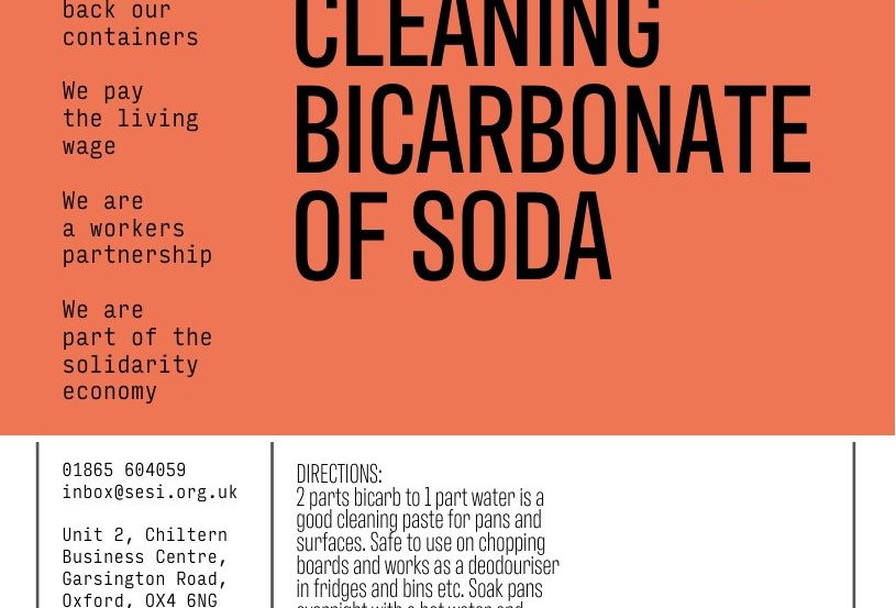 Bicarbonate of soda (cleaning)